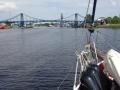 Kaiser Wilhelm Brücke geschlossen