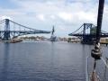 Kaiser Wilhelm Brücke offen