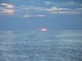Sonnenaufgang in der Flaute