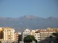 Wolkenfreier Vulkan